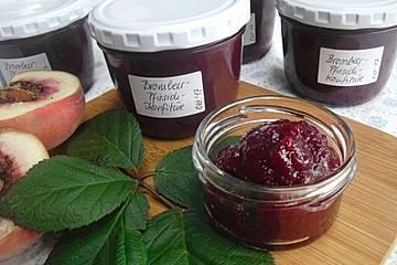 Brombeer - Pfirsich - Marmelade