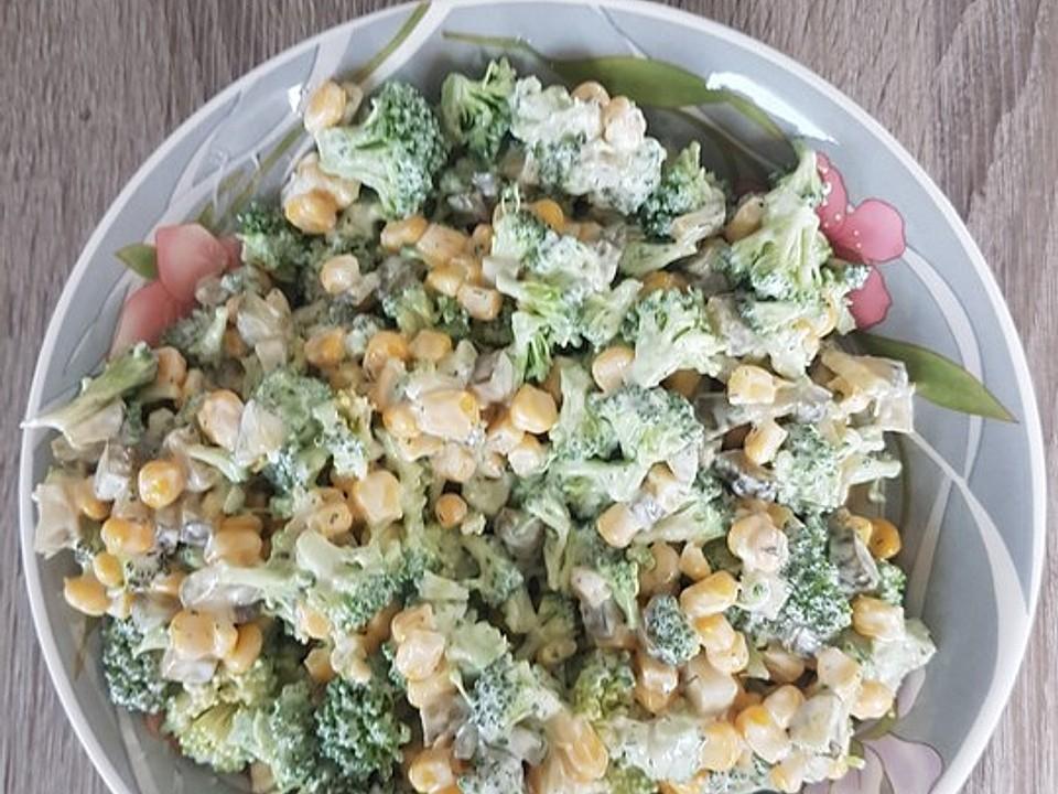 Salat Mit Brokkoli