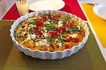 Tomaten - Tarte mit Ziegenkäse