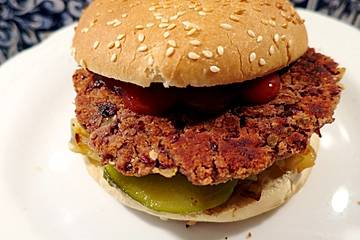 Schnelle Bohnen-Burger