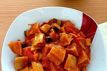 Tanjas schnelle Maultaschen - Gemüse - Pfanne
