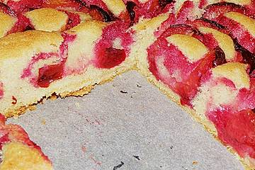 Rosinenkinds schneller Obstkuchen