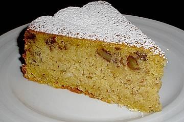 Topfen - Nuss - Kuchen