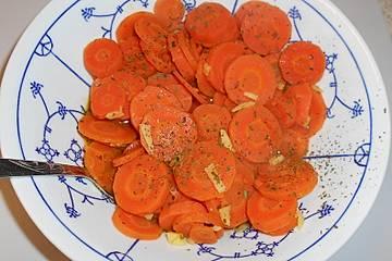 Ingwer - Möhren mit Honig