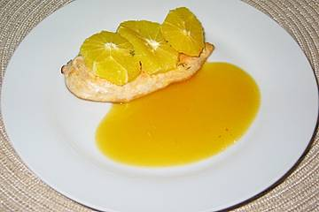 Scharfe Orangensoße