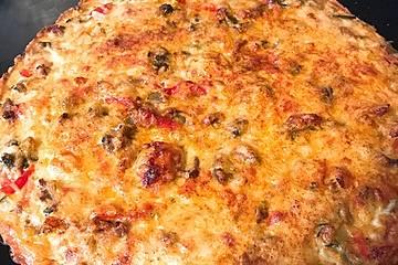 Paprika-Brokkoli Quiche