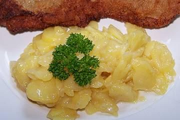 Kartoffelsalat, warm und ohne Mayonnaise