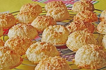 Weihnachtsplätzchen Kokosmakronen.Die Perfekten Kokosmakronen
