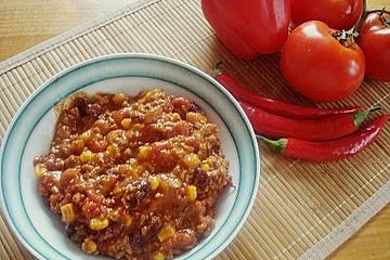 Unser Lieblings - Chili con carne mit dem gewissen Etwas