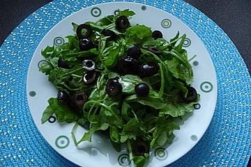 Rucola - Oliven - Salat