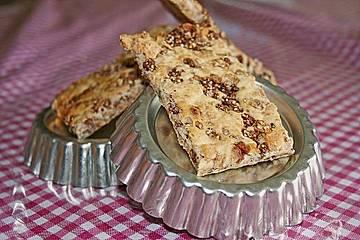 Bratschenfees Vollkorn - Schokoknuspermüsli - Cornflakes Knäckebrot