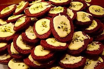 Kekse - ' Butterbrote mit Schnittlauch '