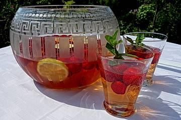 Erdbeerbowle alkoholfrei