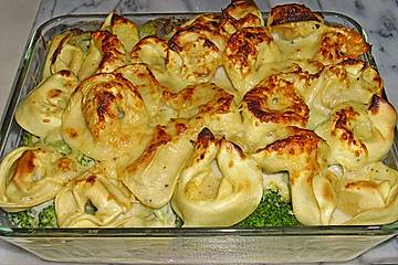Tortellini - Brokkoli - Auflauf