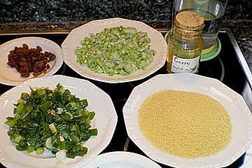 Curry - Cous Cous - Salat