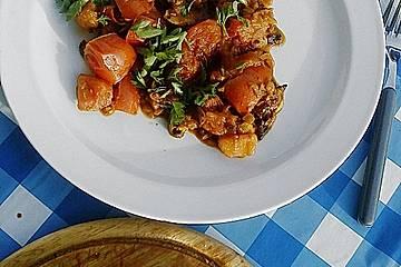 Pilz - Tomaten - Chutney
