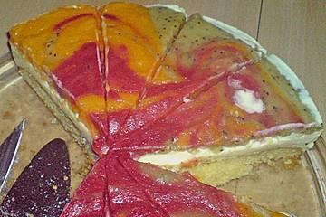 Fruchtpüreetorte