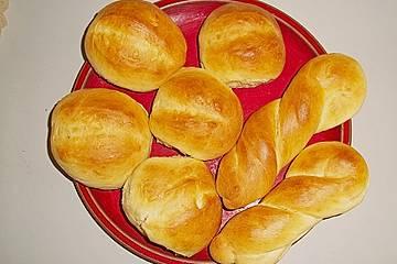 Kuchenbrötchen mit Hermann - Teig