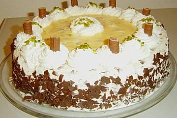 Eierlikör -  Stracciatella - Torte