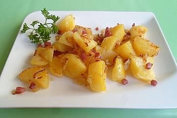 Kartoffeln pikant geröstet