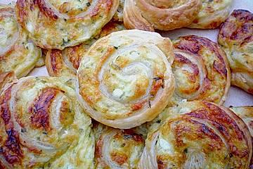 Hüttenkäse - Schnecken