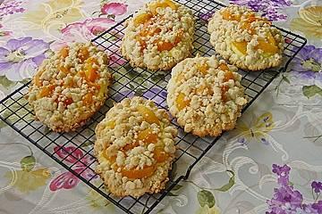 Aprikosen - Pudding - Teilchen