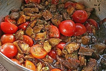 Auberginensalat Balsamico