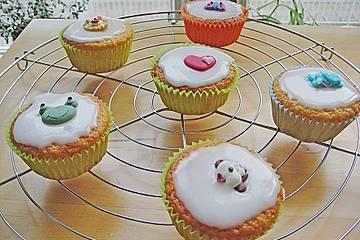 Zitronen-Kokos-Apfel-Muffins