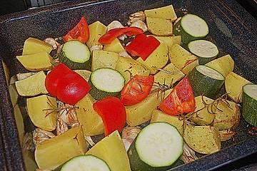 Ofenkartoffeln - Ofengemüse