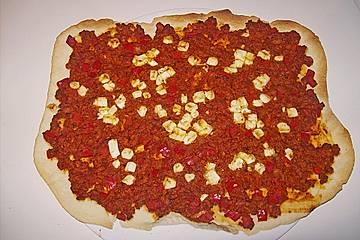Lahmacun - türkische Pizza