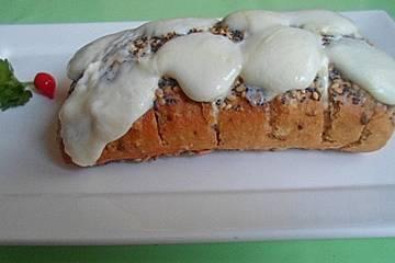 Baguette mit Aioli und Mozzarella