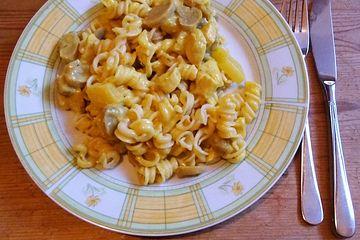 Chili - Curry - Puten - Champignon - Geschnetzeltes