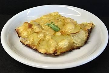 Kartoffel - Kohlrabi - Gratin