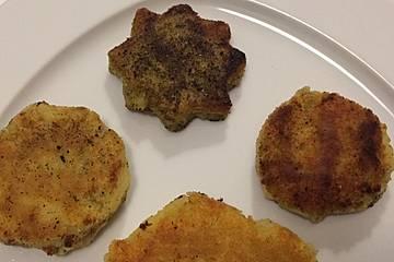 Irische Frühstückskartoffelküchlein