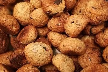 Knabberbällchen mit Nüssen und Kernen