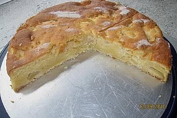Apfel - Ricotta - Kuchen
