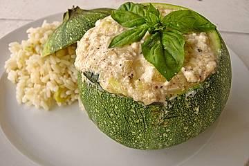 Gefüllte Zucchini oder Rondini