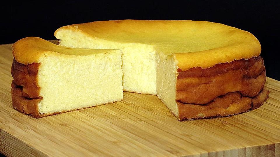 Käsekuchen ohne boden mit grieß ohne eier