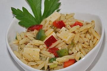 Paprika - Nudelsalat