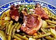 Lammkotelett-mit-gruenen-Bohnen