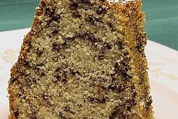 Urmelis schneller  Mandel - Grieß - Schoko - Gugelhupf