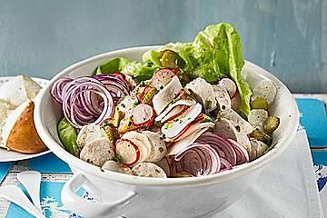 Rettich - Weißwurst - Salat