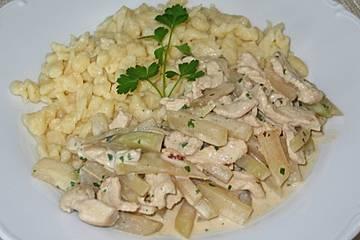 Schnitzel - Kohlrabipfanne