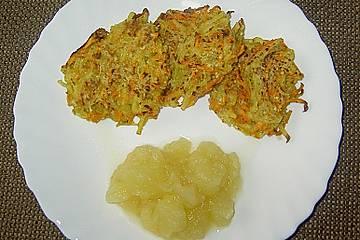 Kartoffel - Möhren - Rösti