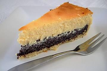Mohn-Käse-Torte