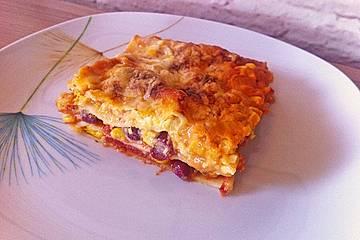 Mexiko-Lasagne