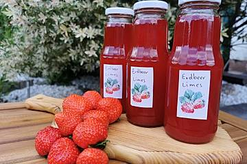 Medis Erdbeerlimes
