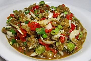 Auberginen - Paprika - Salsa