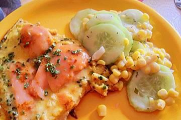 Kräuter - Omelett