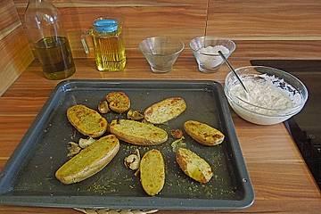 Rosmarinkartoffeln mit Dip